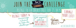 Take the So Delicious 21-Day Dairy Free Challenge!